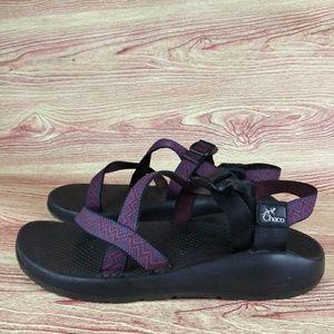Chaco Performance Sandals Slides 10 Purple Vibram